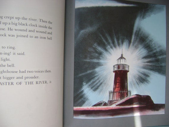The Little Red Lighthouse and The Great Gray Bridge 1970 Hildegarde Swift summer sale