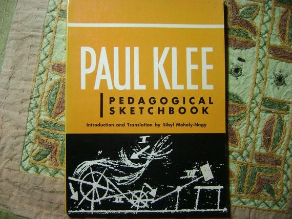 Paul Klee Pedagogical Sketchbook 1972