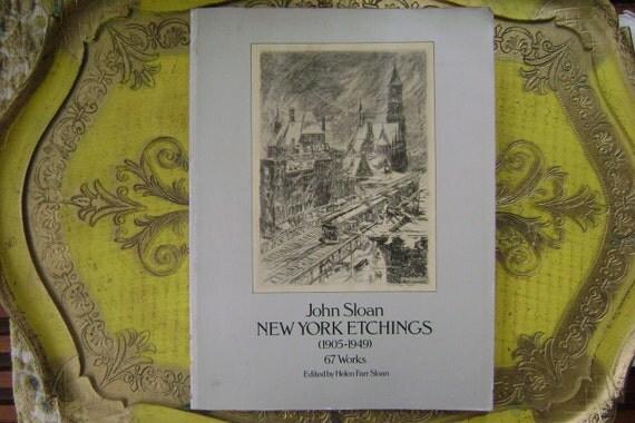 John Sloan New York Etchings 1978 summer sale