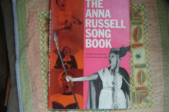 The Anna Russell Song Book 1960 first edition