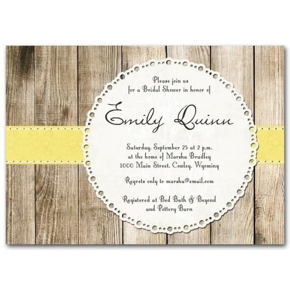 Bridal shower invitation, Rustic vintage baby shower, orange, yellow, red, green color choices, printable digital DIY