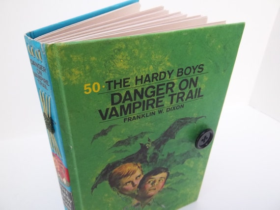 "hardy boys journal: ""danger on the vampire trail"""
