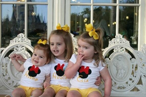 Minnie Mouse Shirt, Girls Minnie Mouse Shirt