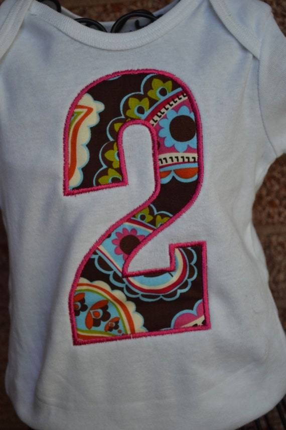 Paisley How old am I Birthday Girl Applique Embroidered Shirt-- Onsie, Tee Shirt great for photography