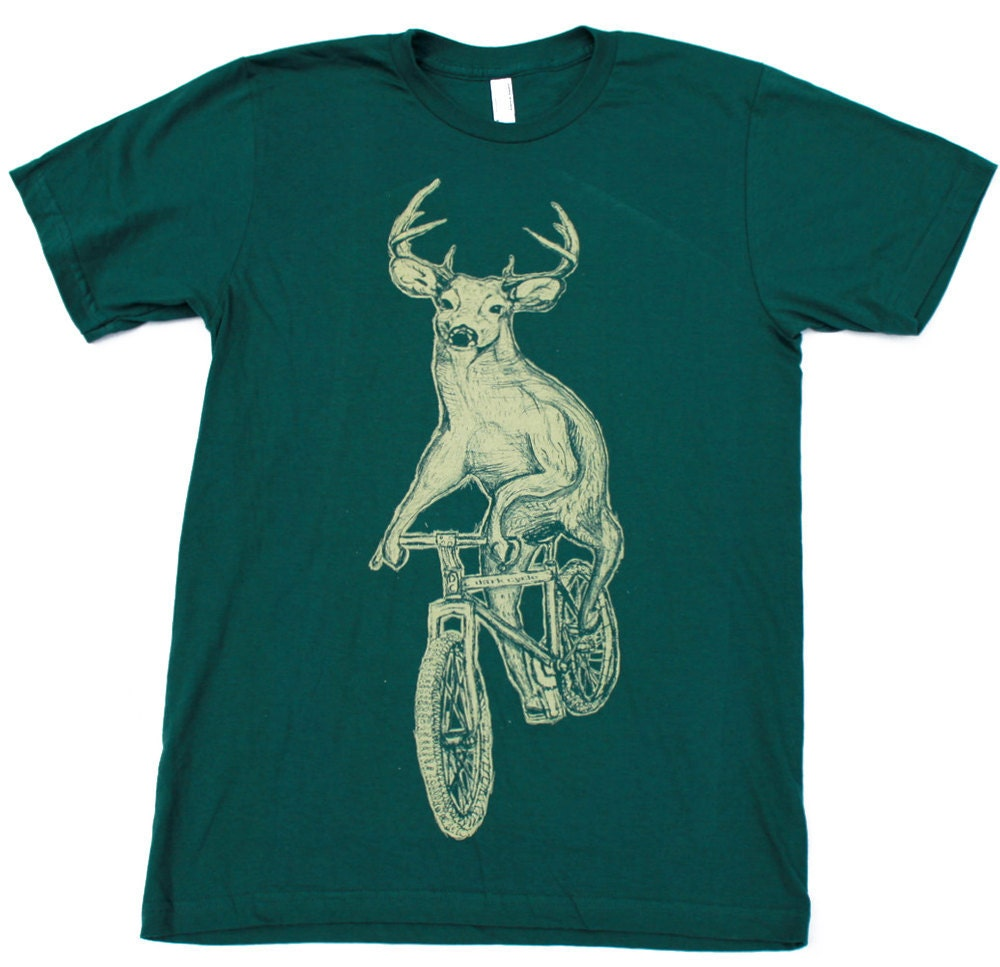 If you see a person wearing a shirt with a deer on it do you