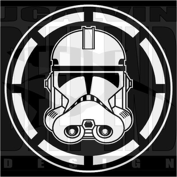 Star wars clone trooper clonetrooper republic cog t shirt - Republic star wars logo ...
