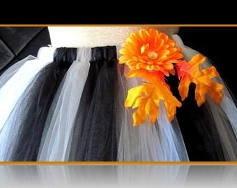Anti Halloween tutu skirt  custom orders welcome 24inches long