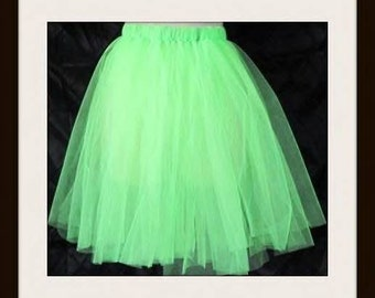 "Toxic Tutu       18"" length or customize your length and waist       Custom Tutus alway welcome"