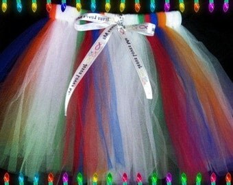 Christian Tutu Skirts Custom Orders Welcome (Adults, Children, Teens, and Plus sizes)Ready to Ship