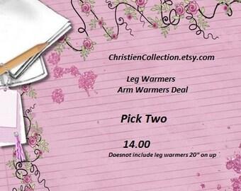 Leg warmers  Arm warmers baby leg warmers baby knee protectors toddler coverings 2 pair listing Newborn/adult
