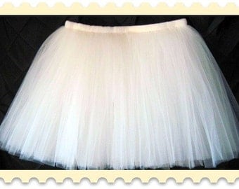 "Sewn tutu, tea length tutu, 20"" length tutu, teen tutu, adult tutu, plus size tutu, toddler tutu, birthday tutu, photo prop accessories,"