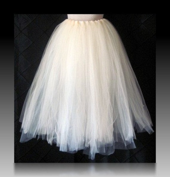 "Tutu skirt 30"" long customize your size priority shipping Choose your own COLORS"