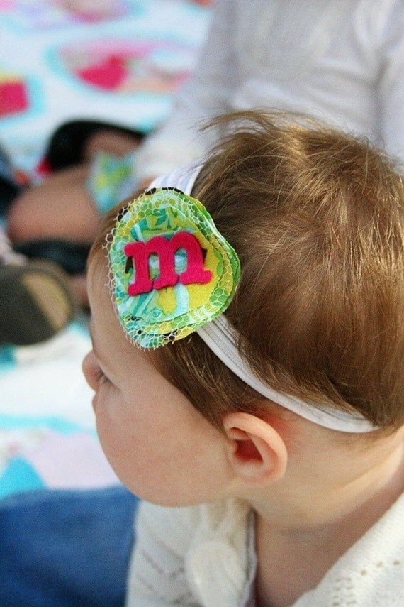 Interchangeable SNAP accessory--Monogrammed Collection