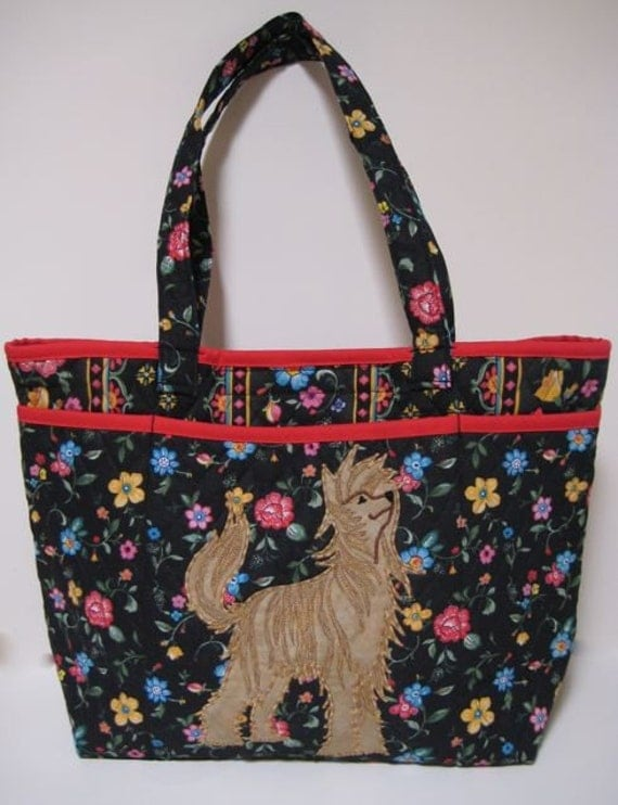 PowderPuff Chinese Crested Tote