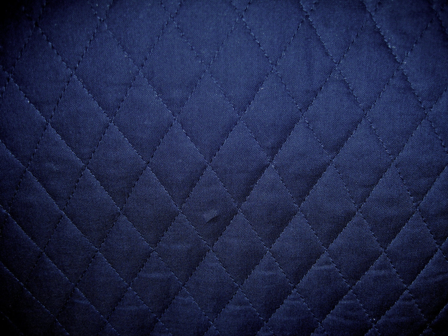Quilted Fabric Blue Solid Navy Blue...