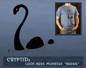 NESSIE: Large Animated tee shirt