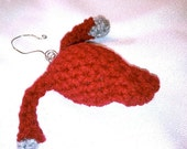 Custom Order - Uterus Crochet Ornament Plush, with Fallopian Tubes and Ovaries, Vaginal Canal, and Vulva
