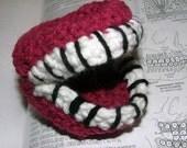 Teeth, Dentures, Crochet Plush