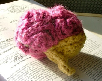 Brain Crochet Plush