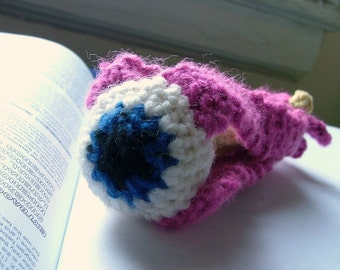 Eye, Optic Nerve, Eye Muscles, Crochet Plush