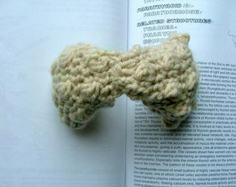 Crocheted Plush Thyroid Gland