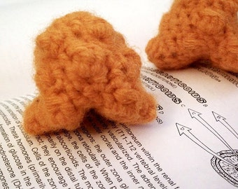 One Crochet Plush Adrenal Gland