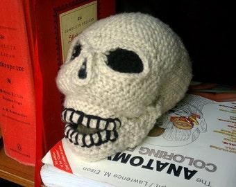 Skull Crochet Plush