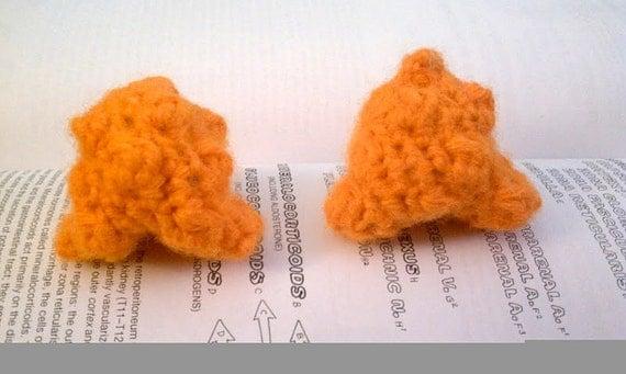 Crochet Plush Adrenal Glands