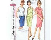 Classic 2 Piece Summer Outfit - Johnson Era - 1965 McCalls Pattern No. 5956