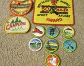Vintage 10 Boy Scouts Of America Awards