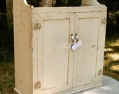 Antique Cupboard 1920s Shabby Cottage Chic