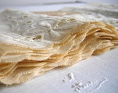 Vintage NEW Cream Cotton Eyelet Lace Trim...5 yards in original packaging...great as a prop, home decor or arts and crafts