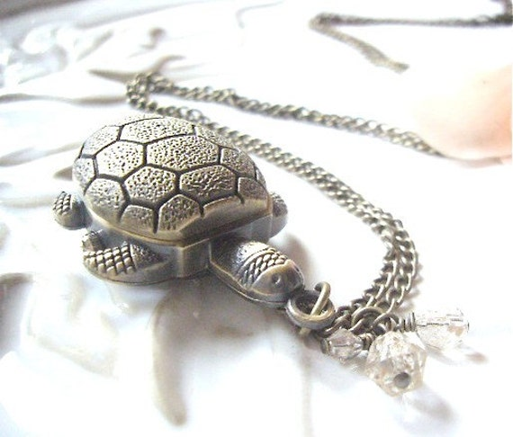 The Turtle Watch Necklace