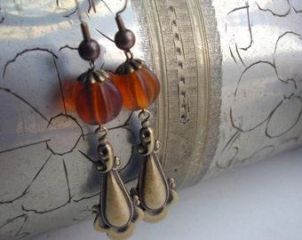 victorian style handmade earrings
