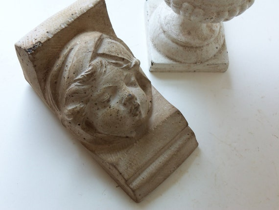 hold for kim - cement angel corbel tile