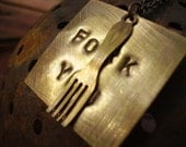 Fork You Necklace