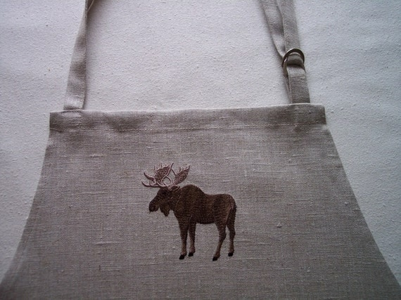 "Mens Apron ""MOOSE"""