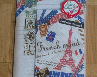 Kamio Japan Inc. Cute French Mood Journaling/Scrapbooking/Origami Papers