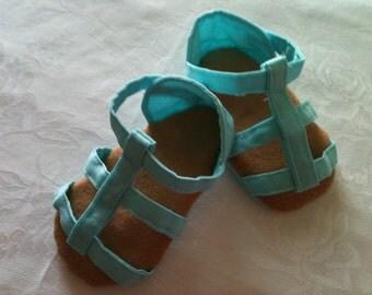 Ellie Strappy Sandal Sewing PDF PATTERN  Sizes 0-9mos