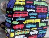 Plaidsportation Toddler Backpack
