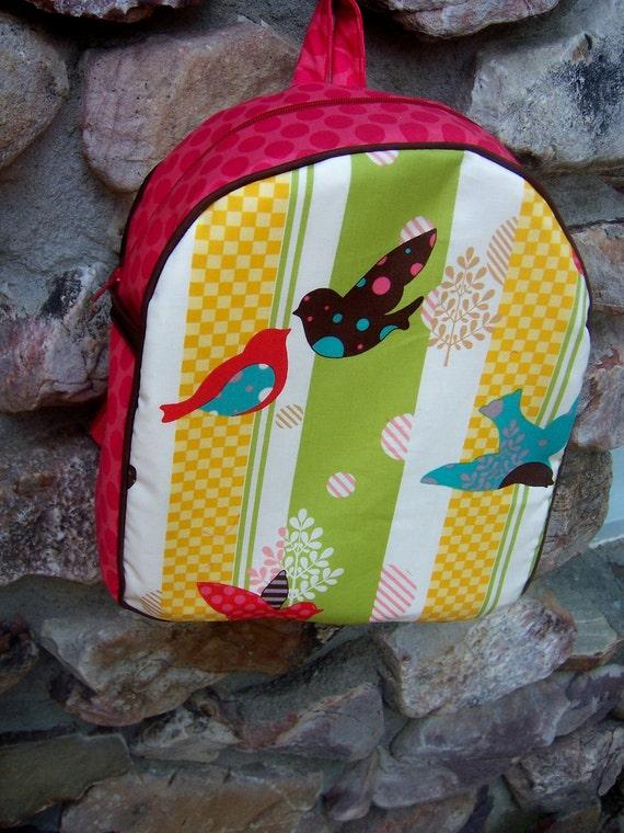 Birds in Flight Toddler Backpack