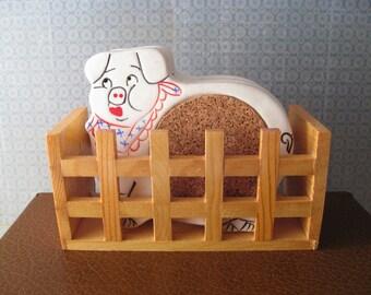 Pigpen Coasters