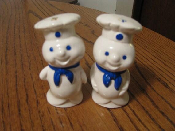 Vintage Pillsbury Doughboy Salt Amp Pepper Shakers
