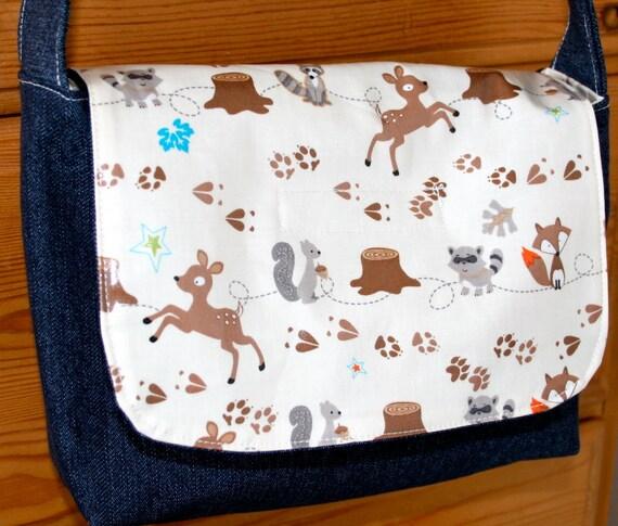 Messenger Bag Sale - Kids - Fox Trails - Laminated
