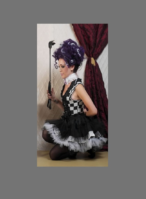 Cute Anime Lolita Goth Clown Outfit