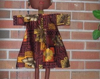 Ethnic Soft Doll Wall Art