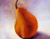 Original Painting Pear, Still life painting, Kitchen art, oil painting, Wall decor, Kitchen Art