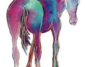 Blue Horse Note Cards