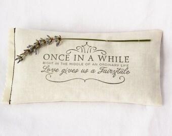 Fairytale Wedding Lavender Sachet, Unique Wedding Favor, Engagement Party Gift