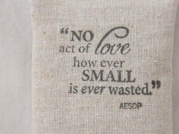 Aesop Quote Lavender Sachet, Gift of Encouragement & Appreciation for Teacher, Nurse, Mom, Best Student
